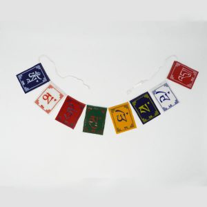 ma tri mantra prayer flag mini